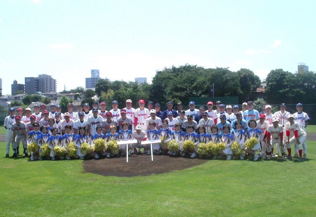 20101113_東西経済人野球交歓試合_1